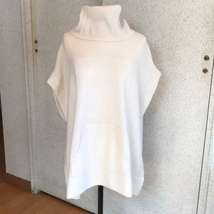 Minnie Rose Ribbed Cashmere Tunic